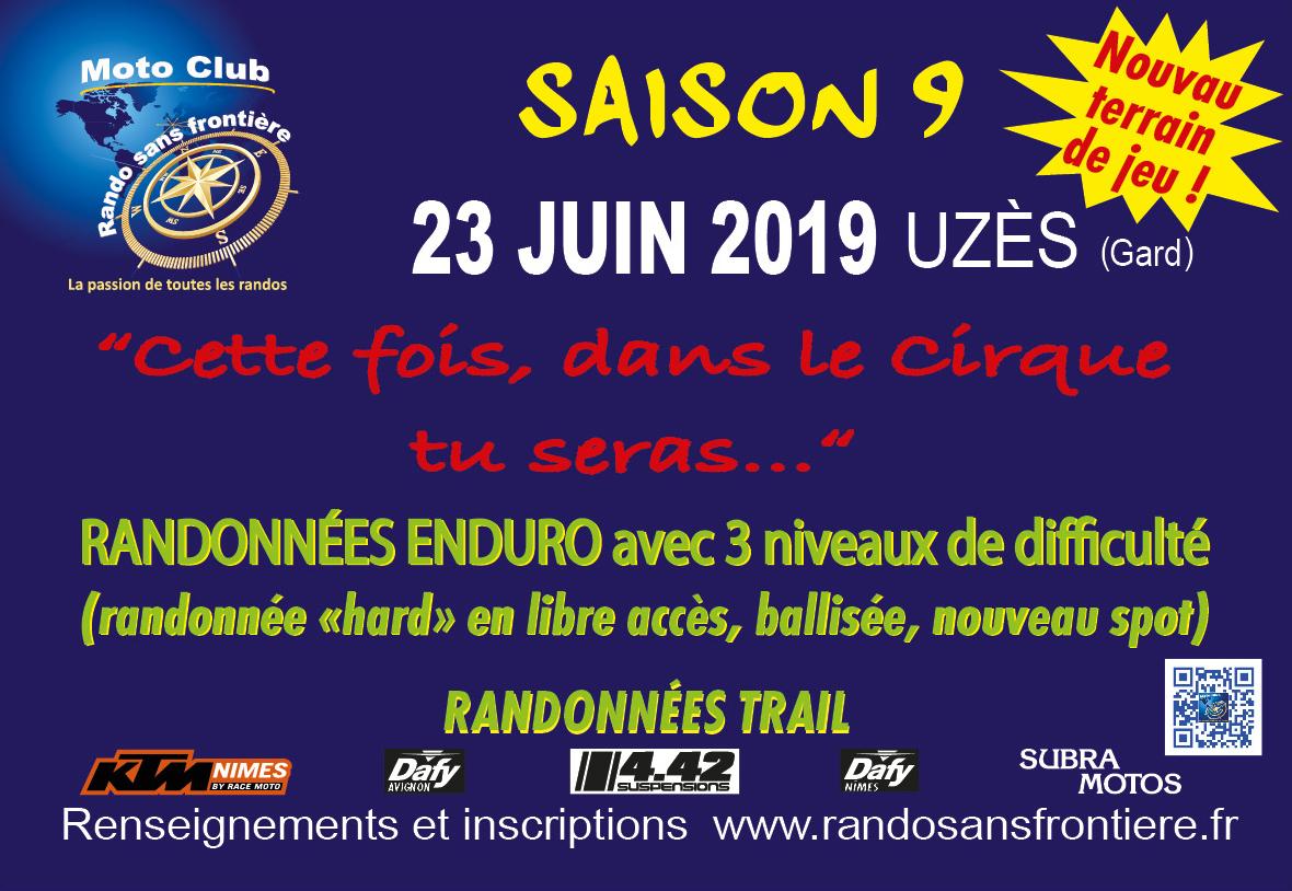 """Randos """"Dans le cirque tu seras"""" le 23 juin 2019 à Uzès – Retardataires"""